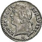 Photo numismatique  ARCHIVES VENTE 2016 -6 juin ROYALES FRANCAISES LOUIS XV (1er septembre 1715-10 mai 1774)  48- 1/20ème d'écu au bandeau, Metz 1769.
