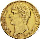 Photo numismatique  ARCHIVES VENTE 2016 -6 juin MODERNES FRANÇAISES BONAPARTE, 1er consul (24 décembre 1799-18 mai 1804)  80- 40 francs or, Paris an XI.