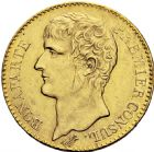 Photo numismatique  ARCHIVES VENTE 2016 -6 juin MODERNES FRANÇAISES BONAPARTE, 1er consul (24 décembre 1799-18 mai 1804)  81- 40 francs or, Paris an XI.