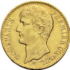 Photo numismatique  ARCHIVES VENTE 2016 -6 juin MODERNES FRANÇAISES BONAPARTE, 1er consul (24 décembre 1799-18 mai 1804)  82- 40 francs or, Paris an XI.