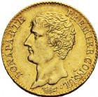Photo numismatique  ARCHIVES VENTE 2016 -6 juin MODERNES FRANÇAISES BONAPARTE, 1er consul (24 décembre 1799-18 mai 1804)  84- 20 francs or, Paris an 12.