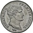 Photo numismatique  ARCHIVES VENTE 2016 -6 juin MODERNES FRANÇAISES BONAPARTE, 1er consul (24 décembre 1799-18 mai 1804)  88- 1 franc, Paris an 12.