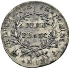 Photo numismatique  ARCHIVES VENTE 2016 -6 juin MODERNES FRANÇAISES BONAPARTE, 1er consul (24 décembre 1799-18 mai 1804)  89- Demi-franc, Paris an 12.