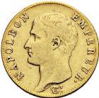 Photo numismatique  ARCHIVES VENTE 2016 -6 juin MODERNES FRANÇAISES NAPOLEON Ier, empereur (18 mai 1804- 6 avril 1814)  96- 20 francs or, Paris an 13.