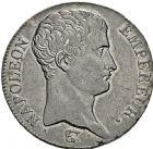 Photo numismatique  ARCHIVES VENTE 2016 -6 juin MODERNES FRANÇAISES NAPOLEON Ier, empereur (18 mai 1804- 6 avril 1814)  106-  5 francs, Turin an 14.