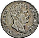 Photo numismatique  ARCHIVES VENTE 2016 -6 juin MODERNES FRANÇAISES NAPOLEON Ier, empereur (18 mai 1804- 6 avril 1814)  109- 1 franc, Paris 1806.