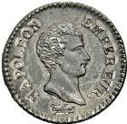 Photo numismatique  ARCHIVES VENTE 2016 -6 juin MODERNES FRANÇAISES NAPOLEON Ier, empereur (18 mai 1804- 6 avril 1814)  110- Quart, La Rochelle an 12.