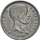 Photo numismatique  ARCHIVES VENTE 2016 -6 juin MODERNES FRANÇAISES NAPOLEON Ier, empereur (18 mai 1804- 6 avril 1814)  113- 2 francs «tête de nègre», Paris 1807.