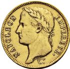 Photo numismatique  ARCHIVES VENTE 2016 -6 juin MODERNES FRANÇAISES NAPOLEON Ier, empereur (18 mai 1804- 6 avril 1814)  118- 40 francs or, Paris 1807