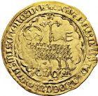 Photo numismatique  ARCHIVES VENTE 2016 -6 juin BARONNIALES - POIDS de VILLE Comté de HOLLANDE GUILLAUME V de Bavière (1350-1389) 244- Mouton d'or avec le titre de COMES.