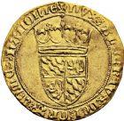 Photo numismatique  ARCHIVES VENTE 2016 -6 juin BARONNIALES - POIDS de VILLE Comté de HAINAUT ALBERT de Bavière (1389-1404) 245- Couronne d'or, Valenciennes.