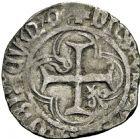 Photo numismatique  ARCHIVES VENTE 2016 -6 juin BARONNIALES - POIDS de VILLE Principauté des DOMBES JEAN II de Bourbon (1456-1488) 246- Demi-blanc.