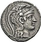 Photo numismatique  ARCHIVES VENTE 2016 -6 juin QUELQUES MONNAIES ANTIQUES GRECE ANTIQUE  252- Athènes. (196-87). Tétradrachme de nouveau style.