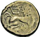 Photo numismatique  ARCHIVES VENTE 2016 -6 juin QUELQUES MONNAIES ANTIQUES GAULE  255- Pictones (Poitou). Statère d'or bas.