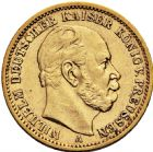 Photo numismatique  ARCHIVES VENTE 2016 -6 juin MONNAIES DU MONDE ALLEMAGNE PRUSSE, Guillaume 1er (1861-1888) 265- 20 mark 1871 A (Berlin).