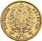 Photo numismatique  ARCHIVES VENTE 2016 -6 juin MONNAIES DU MONDE ALLEMAGNE PRUSSE, Guillaume 1er (1861-1888) 265- 20 mark 1871 A (Berlin).