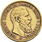 Photo numismatique  ARCHIVES VENTE 2016 -6 juin MONNAIES DU MONDE ALLEMAGNE PRUSSE, Frédéric III. (1888) 269- 20 mark 1888 A (Berlin).