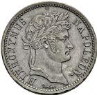 Photo numismatique  ARCHIVES VENTE 2016 -6 juin MONNAIES DU MONDE ALLEMAGNE WESTPHALIE, Jérôme Napoléon (1807-1813). 277- 1 frank, Paris 1808.