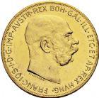 Photo numismatique  ARCHIVES VENTE 2016 -6 juin MONNAIES DU MONDE AUTRICHE FRANCOIS-JOSEPH (1848-1916) 284- 100 couronnes, 1915.