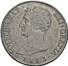 Photo numismatique  ARCHIVES VENTE 2016 -6 juin MONNAIES DU MONDE ESPAGNE JOSEPH NAPOLEON (1808-1813) 294- 20 reales, Madrid 1813.