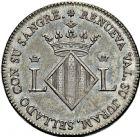 Photo numismatique  ARCHIVES VENTE 2016 -6 juin MONNAIES DU MONDE ESPAGNE FERDINAND VII (1808-1833) 295- 2 reales, Valence 1809.