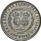 Photo numismatique  ARCHIVES VENTE 2016 -6 juin MONNAIES DU MONDE ESPAGNE FERDINAND VII (1808-1833) 296- Médaille, Séville 1823.