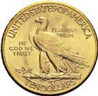 Photo numismatique  ARCHIVES VENTE 2016 -6 juin MONNAIES DU MONDE ÉTATS-UNIS d'AMÉRIQUE du NORD  300- 10 dollars or, 1932.