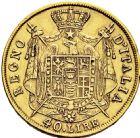 Photo numismatique  ARCHIVES VENTE 2016 -6 juin MONNAIES DU MONDE ITALIE NAPOLEON Ier Roi d'Italie (1805-1814) 315- 40 lire or, Milan 1810.