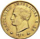 Photo numismatique  ARCHIVES VENTE 2016 -6 juin MONNAIES DU MONDE ITALIE NAPOLEON Ier Roi d'Italie (1805-1814) 316- 40 lire or, Milan 1814.