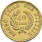 Photo numismatique  ARCHIVES VENTE 2016 -6 juin MONNAIES DU MONDE ITALIE NAPLES et DEUX-SICILES, Joachim Murat (1808-1815) 322- 40 lire or, Naples 1813.