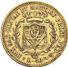 Photo numismatique  ARCHIVES VENTE 2016 -6 juin MONNAIES DU MONDE ITALIE SAVOIE-SARDAIGNE, Charles Félix (1821-1831) 326- 40 lire, Turin 1825.