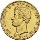 Photo numismatique  ARCHIVES VENTE 2016 -6 juin MONNAIES DU MONDE ITALIE SAVOIE-SARDAIGNE, Charles Albert (1831-1849) 328- 100 lire or, Gênes 1840.