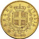 Photo numismatique  ARCHIVES VENTE 2016 -6 juin MONNAIES DU MONDE ITALIE SAVOIE-SARDAIGNE, Victor Emmanuel II, roi d'Italie (1861-1878) 329- 20 lire or, Rome 1878.