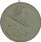 Photo numismatique  ARCHIVES VENTE 2016 -6 juin MÉDAILLES France et Europe - XVIIe au Xxe siècle  349- François IV de Gonzague. Duc de Mantoue et Montferrat.