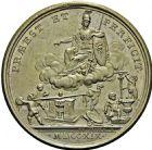Photo numismatique  ARCHIVES VENTE 2016 -6 juin MEDAILLES France et Europe - XVIIe au Xxe siècle  352- MÉDAILLE. Nicolas Delaunay, 1719, par Duvivier.