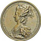 Photo numismatique  ARCHIVES VENTE 2016 -6 juin MEDAILLES France et Europe - XVIIe au Xxe siècle  355- Louis XVI et Marie-Antoinette, 1781, par Duvivier.