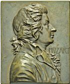 Photo numismatique  ARCHIVES VENTE 2016 -6 juin MEDAILLES France et Europe - XVIIe au Xxe siècle  356- Mozart par F. Stiasny.