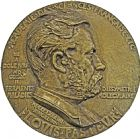 Photo numismatique  ARCHIVES VENTE 2016 -6 juin MEDAILLES France et Europe - XVIIe au Xxe siècle  362- Grande fonte de Louis Pasteur, 1884 par Ringel.