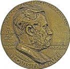 Photo numismatique  ARCHIVES VENTE 2016 -6 juin MÉDAILLES France et Europe - XVIIe au Xxe siècle  362- Grande fonte de Louis Pasteur, 1884 par Ringel.