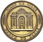 Photo numismatique  ARCHIVES VENTE 2016 -6 juin MEDAILLES France et Europe - XVIIe au Xxe siècle  367- La porte de Paris à Lille, 1895, par A. Bureau.