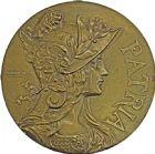 Photo numismatique  ARCHIVES VENTE 2016 -6 juin MEDAILLES France et Europe - XVIIe au Xxe siècle  372- Grande plaque, la Patrie.