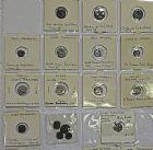 Photo numismatique  ARCHIVES VENTE 2016 -6 juin LOTS DE MONNAIES COLONIES FRANCAISES  397- Indes. Lot de 21 monnaies dont 10 en argent.