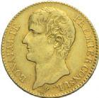 Photo numismatique  MONNAIES MODERNES FRANÇAISES BONAPARTE, 1er consul (24 décembre 1799-18 mai 1804)  40 francs or, Paris an XI.