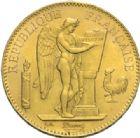 Photo numismatique  MONNAIES MODERNES FRANÇAISES 3ème REPUBLIQUE (4 septembre 1870-10 juillet 1940)  100 francs or, Paris 1886.