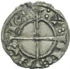 Photo numismatique  MONNAIES BARONNIALES Comtat VENAISSIN BARRAL de BAUX (1249-1251) Denier, Avignon.