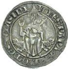 Photo numismatique  MONNAIES BARONNIALES Comtat VENAISSIN JEAN XXII (1316-1334) Gros, Pont-de-Sorgues.