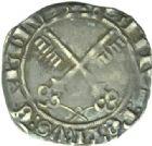 Photo numismatique  MONNAIES BARONNIALES Comtat VENAISSIN MARTIN V (1417-1431) Carlin, Avignon.