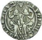 Photo numismatique  MONNAIES BARONNIALES Comtat VENAISSIN EUGENE IV (1431-1447) Carlin, Avignon.