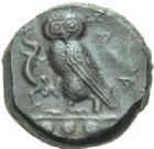 Photo numismatique  MONNAIES GRÈCE ANTIQUE SICILE Camarina (420-405) Tétras.