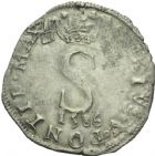 Photo numismatique  MONNAIES BARONNIALES Comtat VENAISSIN SIXTE V (1585-1590) Gros de six blancs, 1586.